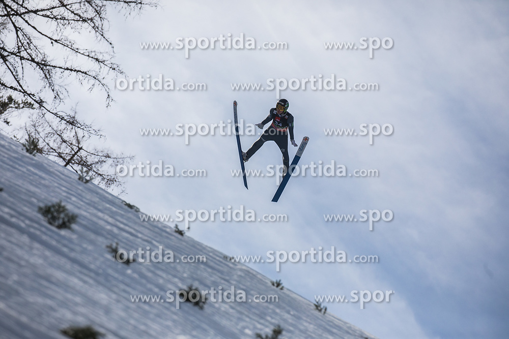 Timi Zajc (SLO) during the 1st round of the Ski Flying Hill Individual Competition at Day 2 of FIS Ski Jumping World Cup Final 2019, on March 22, 2019 in Planica, Slovenia. Photo Peter Podobnik / Sportida
