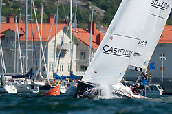 Swinton - Stena Match Cup Sweden 2010, Marstrand-Sweden. World Match Racing Tour. photo: Loris von Siebenthal - myimage