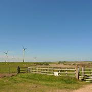 Ballywater Wind Farm, located between the villages of Kilmuckridge and Ballygarrett in County Wexford, Ireland.