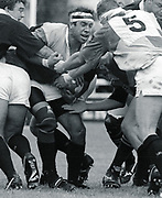 Twickenham, GREAT BRITAIN,     Quin's, Chris SHEASBY, during the premiership match, Harlequins vs London Wasps, played at The Stoop Memorial Ground. 10.1994<br /> <br /> [Mandatory Credit; Peter Spurrier/Intersport-images]