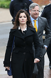 The TV Chef Nigella Lawson arrives at Isleworth Crown Court. London, United Kingdom. Wednesday, 4th December 2013. The TV chef is expected to testify today at trial for Francesca and Elisabetta Grillo, who appear charged with fraud after allegedly using a company credit card to defraud the TV chef and her former husband out of £300,000. Picture by Hugo Philpott / i-Images<br /> File Photo  - Nigella Lawson and Charles Saatchi PAs cleared of fraud. The trial of Francesca Grillo, 35, and sister Elisabetta, 41, heard they spent £685,000 on credit cards owned by the TV cook and ex-husband Charles Saatchi.<br /> Photo filed Monday 23rd December 2013