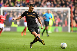 March 9, 2019 - Nottingham, England, United Kingdom - Eric Lichaj (2) of Hull City during the Sky Bet Championship match between Nottingham Forest and Hull City at the City Ground, Nottingham on Saturday 9th March 2019. (Credit Image: © Jon Hobley/NurPhoto via ZUMA Press)