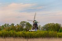 The 250+ year old DeZwaan windmill in Holland, MI
