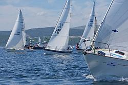 Silvers Marine Scottish Series 2017<br /> Tarbert Loch Fyne - Sailing<br /> <br /> CYCA Class 5 Start