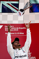 May 13, 2018 - Barcelona, Spain - Motorsports: FIA Formula One World Championship 2018, Grand Prix of Spain, .#44 Lewis Hamilton (GBR, Mercedes AMG Petronas Motorsport) (Credit Image: © Hoch Zwei via ZUMA Wire)