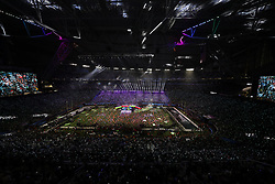 February 4, 2018 - Minneapolis, CA - Super Bowl Eagles wins 41-33 over Patriots..Half time with Justin Timberlake at U.S. Bank Stadium on Sunday, Feb. 4, 2018 in Minneapolis, CA. (Credit Image: © Paul Kuroda via ZUMA Wire)