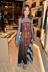 ALISON LOEHNIS President of the Net-a-Porter Group at a dinner hosted by Tod's to celebrate the refurbishment of their store 2-5 Old Bond Street, London on 15th September 2016.