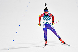 February 10, 2018 - Pyeongchang, South Korea - 180210 Mun Jihee of Republic of Korea  competes in the Women's Biathlon 7,5 km Sprint during day one of the 2018 Winter Olympics on February 10, 2018 in Pyeongchang..Photo: Petter Arvidson / BILDBYRN / kod PA / 87614 (Credit Image: © Petter Arvidson/Bildbyran via ZUMA Press)