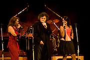 Sao Paulo_SP, Brasil...Show de Arrigo Barnabe na Virada Cultural em Sao Paulo...The Arrigo Barnabe show in Virada Cultural in Sao Paulo...Foto: MARCUS DESIMONI / NITROO