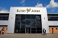Pirelli stadium  before the EFL Sky Bet Championship match between Burton Albion and Leeds United at the Pirelli Stadium, Burton upon Trent, England on 22 April 2017. Photo by Richard Holmes.