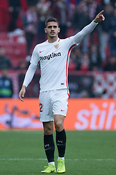December 16, 2018 - Seville, Andalucia, Spain - Andre Silva of Sevilla FC during the LaLiga match between Sevilla FC and Girona at Estadio Ramón Sánchez Pizjuán on December 16, 2018 in Seville, Spain  (Credit Image: © Javier MontañO/Pacific Press via ZUMA Wire)