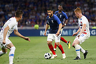 Nabil Fekir of France and Tim Parker of USA during the 2018 Friendly Game football match between France and USA on June 9, 2018 at Groupama stadium in Decines-Charpieu near Lyon, France - Photo Romain Biard / Isports / ProSportsImages / DPPI