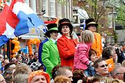 Koninginnedag 2008 / Queensday 2008. <br /> <br /> Koningin Beatrix viert Koninginnedag dit jaar in Friesland. De vorstin en haar familie bezochten op 30 april Makkum en Franeker.<br /> <br /> Queen Beatrix celebrates Queensday this year in Friesland (the Nothren provice in Holland). The Queen and its family visited Makkum and Franeker on 30 April.<br /> <br /> Op de foto/ On the Photo: Franeker