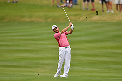March 24, 2018 - Austin, TX, U.S. - AUSTIN, TX - MARCH 24: Louis Oosthuizen watches his approach shot during the Round of 16 for the WGC-Dell Technologies Match Play on March 24, 2018 at Austin Country Club in Austin, TX. (Photo by Daniel Dunn/Icon Sportswire) (Credit Image: © Daniel Dunn/Icon SMI via ZUMA Press)