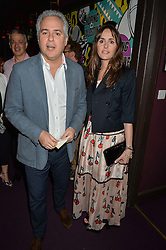 FARES FARES and TANIA FARES at Hoping's Greatest Hits - the 10th Anniversary of The Hoping Foundation's charity benefit held at Ronnie Scott's, 47 Frith Street, Soho, London on 16th June 2016.