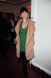 MARYAM D'ABO at a screening of the short film 'Away We Stay' directed by Edoardo Ponti held at The Electric Cinema, Portobello Road, London W1 on 15th November 2010.