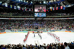 Arena during Ice Hockey match between Canada and Belarus at Quarterfinals of 2015 IIHF World Championship, on May 14, 2015 in O2 Arena, Prague, Czech Republic. Photo by Vid Ponikvar / Sportida