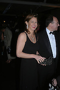 Alison Jackson. The Black and White Winter Ball. Old Billingsgate. London. 8 February 2006. -DO NOT ARCHIVE-© Copyright Photograph by Dafydd Jones 66 Stockwell Park Rd. London SW9 0DA Tel 020 7733 0108 www.dafjones.com