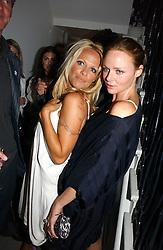 Left to right, PAMELA ANDERSON and STELLA McCARTNEY at the Peta (People for the Ethical Treatment of Animals) Humanitarian Awards held at Stella McCartney, 30 Bruton Street, London W1 on 28th June 2006.<br /><br />NON EXCLUSIVE - WORLD RIGHTS