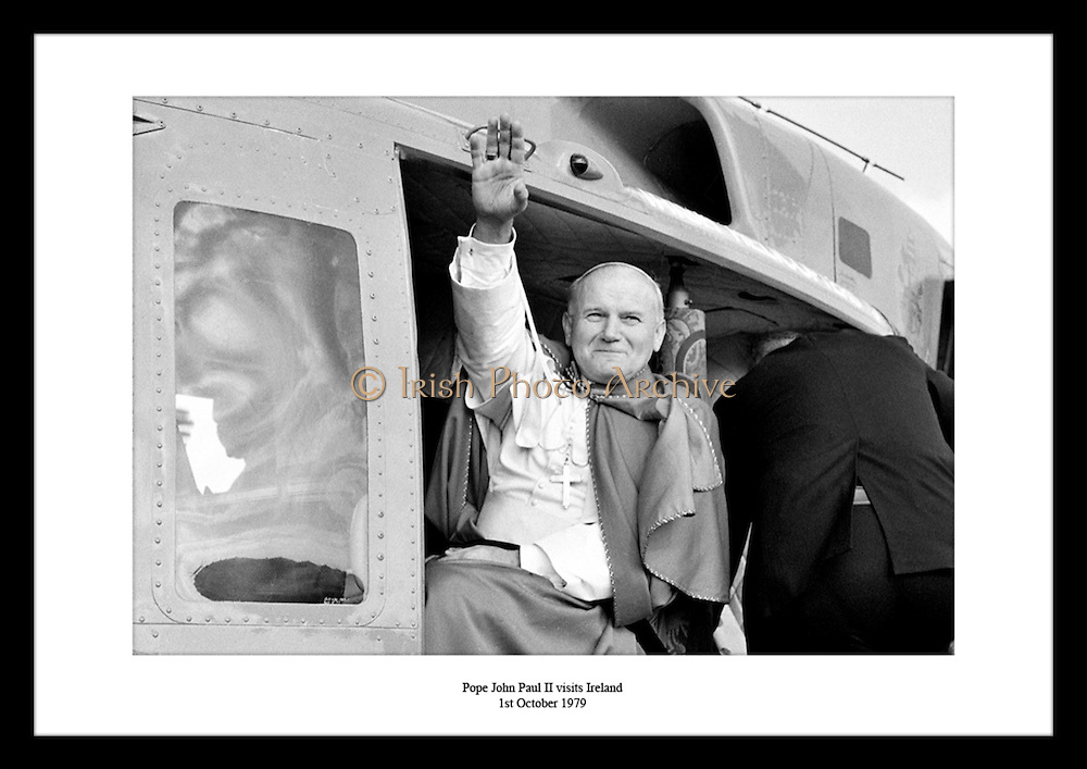 M92-614-31A<br /> Pope John Paul II visits Ireland<br /> 1st October 1979