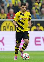 Fotball<br /> Tyskland<br /> 13.09.2014<br /> Foto: Witters/Digitalsport<br /> NORWAY ONLY<br /> <br /> Milos Jojic (Dortmund)<br /> Fussball Bundesliga, Borussia Dortmund - SC Freiburg 3:1