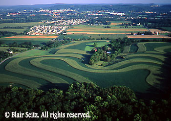 aerials, Berks Co. PA aerial photos, farm and housing, Aerial Photograph Pennsylvania
