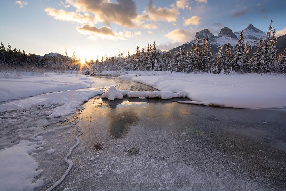 Sunrise, Three Sisters, Spring Creek
