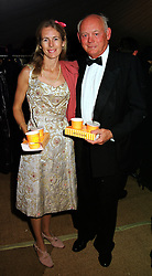 The HON.MRS (Mary) SCOTT and her father LORD MONTAGU OF BEAULIEU, at a ball in West Sussex on 18th September 1999.MWL 19