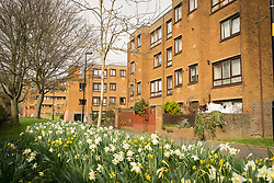 Social housing, London Borough of Haringey, London UK