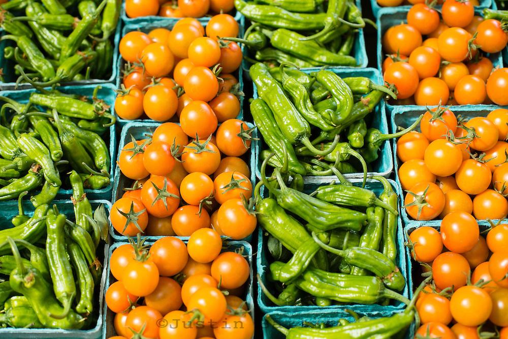 Farmers market, Portland, Oregon