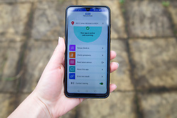 © Licensed to London News Pictures. 24/09/2020. Newton-le-Willows, UK. People in England and Wales are being urged to download the NHS Covid-19 Contact Tracing app which has launched to the public today [24/09/2020]. Photo credit: Kerry Elsworth/LNP