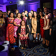 Guests attend at the London Pacific Fashion Week 2019 at Royal Horseguards Hotel, on 13 September 2019, London, UK.