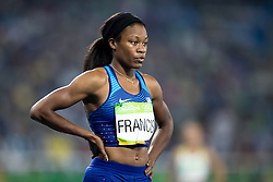 14.08.2016, Olympic Stadium, Rio de Janeiro, BRA, Rio 2016, Olympische Sommerspiele, 400m, Semifinale, Damen, im Bild Francis Phyllis (USA) // Francis Phyllis of the USA during the Women's 400m Semifinal of the Rio 2016 Olympic Summer Games at the Olympic Stadium in Rio de Janeiro, Brazil on 2016/08/14. EXPA Pictures © 2016, PhotoCredit: EXPA/ Johann Groder