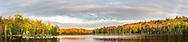 64776-01115 Red Jack Lake in fall Alger Co. MI