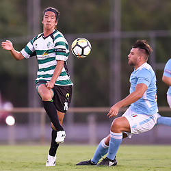 BRISBANE, AUSTRALIA - JANUARY 9:  during the Kappa Silver Boot Group B match between Brisbane City and Souths United on January 9, 2018 in Brisbane, Australia. (Photo by Patrick Kearney)