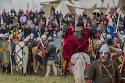 William proves he is still alive - English Heritage's annual re-enactment of the Battle of Hastings marks the 950th anniversary of the Battle in 1066. The event includes a Cavalry encampment, Norman & Saxon encampments and Medieval traders. It takes place at Battle Abbey on October 15th and 16th.