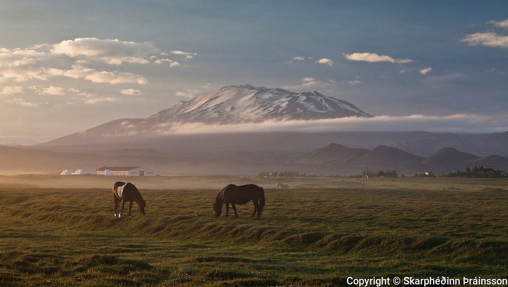 "Mt. Hekla ""The Gateway to Hell"" - Southern Iceland<br />