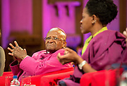 Former archbishop Desmond Tutu at a ceremony receiving the 2013 Templeton Prize at the Guildhall in London, UK. South African anti-apartheid campaigner Desmond Tutu won the 2013 Templeton Prize worth $1.7 million for helping inspire people around the world by promoting forgiveness and justice.