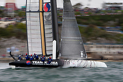 September 10th 2011, AC45 World Series Plymouth. First day of Racing.