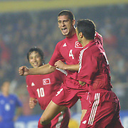 Turkish soccer National team.<br /> Turkey between Liechtenstein match. Turkey's Umit Davala korkmaz during their in AliSamiYen Stadium Istanbul/TURKEY .<br /> Photo by Aykut AKICI/TurkSporFoto