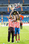 Falcao and Pulido with the Cup