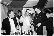 angus Maxwell-Macdonald, Paul thompson and John Sumner. Birthday party. Cirencester. 3 June 1988.<br />Film <br />© Copyright Photograph by Dafydd Jones<br />66 Stockwell Park Rd. London SW9 0DA<br />Tel 0171 733 0108