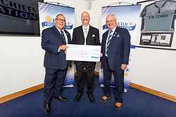 The Exeter Leukaemia Fund Charity receives their cheque - Ryan Hiscott/JMP - 06/08/2018 - RUGBY - Sandy Park - Exeter, England - Exeter Chiefs Season Launch Dinner