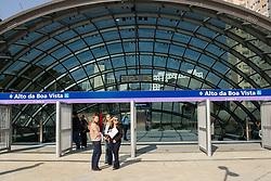 September 6, 2017 - O Governador Geraldo Alckimin (PSDB) inaugura na manhã desta quarta-feira (06), três novas estações do Metrô que compõem a Linha 5 Lilás, na zona sul da capital paulista. As Estações Alto da Boa Vista, Borba Gato e Brooklin fazem parte do programa de expansão que ligaria a Estação Capão Redondo até as Estações Santa Cruz, linha 1 azul e Estação Chácara Klabin, linha 2 Verde. (Credit Image: © Tom Vieira Freitas/Fotoarena via ZUMA Press)