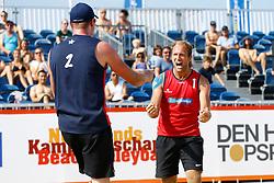 20150830 NED: NK Beachvolleybal 2015, Scheveningen<br />Jaap Jan Feenstra, Gijs van Pruissen