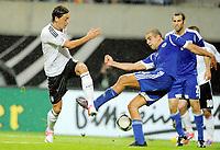 v.l.Mesut Oezil (Deutschland), Tal Ben Haim<br /> Fussball Laenderspiel, Deutschland - Israel<br /> Tyskland - Israel<br /> <br /> Norway only