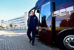 Bristol Flyers head coach, Andreas Kapoulas arrives at Plymouth Pavilions prior to kick off - Photo mandatory by-line: Ryan Hiscott/JMP - 28/10/2018 - BASKETBALL - Plymouth Pavilions - Plymouth, England - Plymouth Raiders v Bristol Flyers - British Basketball Cup