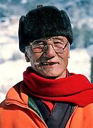 Old Bhutanese man.