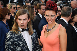 Christophe Guillarme, Delphine Wespiser attending the Ouverture / Les Fantomes d'Ismael premiere during the 70th Cannes Film Festival on May 17, 2017 in Cannes, France. Photo by Julien Zannoni/APS-Medias/ABACAPRESS.COM