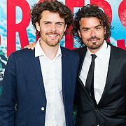 NLD/Amsterdam/20170522 - Premiere film Broers, Bram Schouw (R) en broer